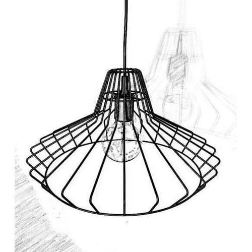 Лампа подвесная loft 01 черный Cube 44