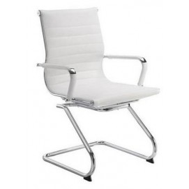 Кресло офисное Алабама Х белое Mebelmodern