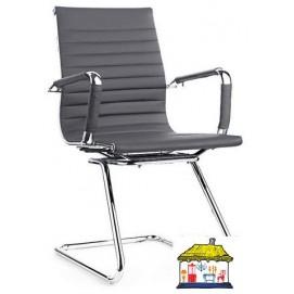Кресло офисное Алабама Х серое Mebelmodern
