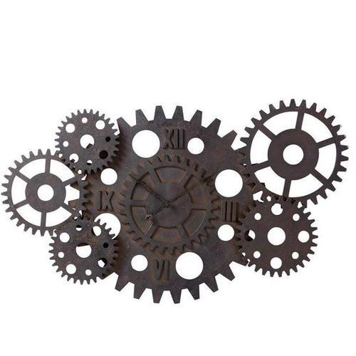Часы настенные D 125 cm PRINCETON 138240 Maisons коричневые