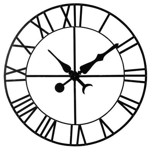 Декор в форме часов D130 cm Factory ALEMBERT черные 154931 Maisons
