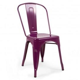 Стул Tolix MC-001A фиолетовый Primel