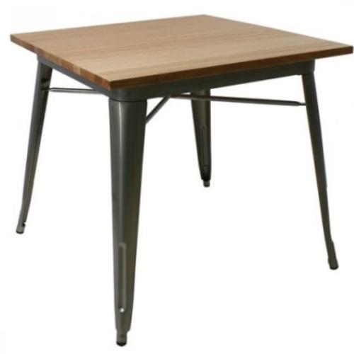 Стол обеденный Tolix MC-80W 80х80 см сталь Primel