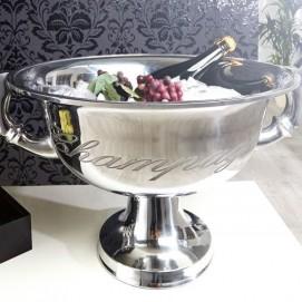 Ведро для шампанского Champagne srebrna 40cm (Z36380) серебро Invicta