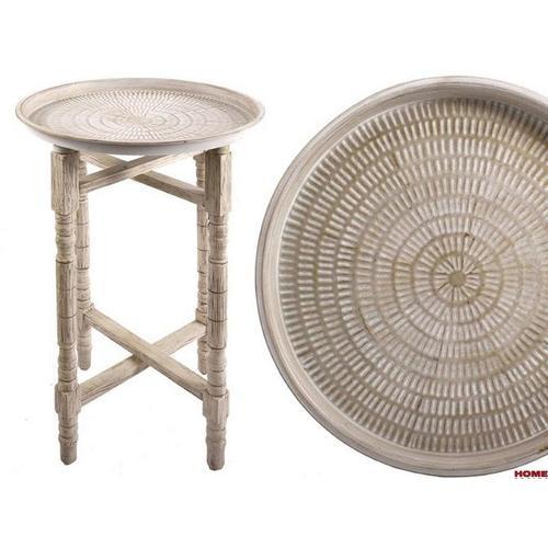 Стол кофейный Jose 46,5cm (D951039) натуральный Dyyk