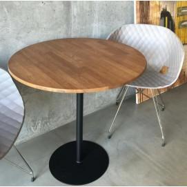 Стол обеденный круглый coffee time черный Cube 44