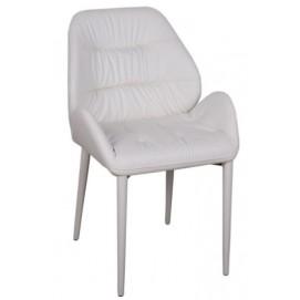 Кресло Sevilla белый кожзам Kolin