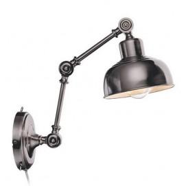 Настенный светильник Markslojd 105052 GRIMSTAD черный