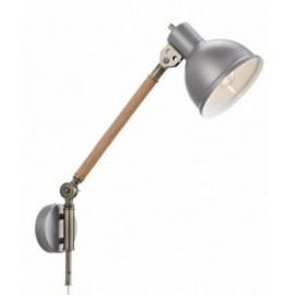 Настенный светильник LampGustaf 104934 ARCHIMEDES серый