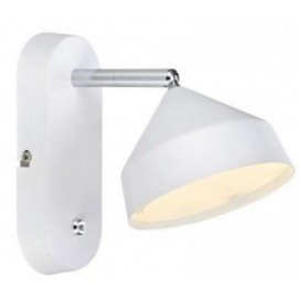 Настенный светильник Markslojd 105801 TRATT белый