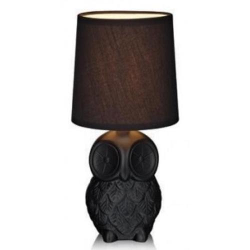 Настольная лампа Markslojd 105311 HELGE черная