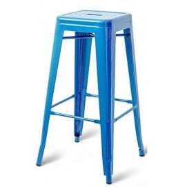 Табурет барный АС-012 голубой Kordo есть 1шт