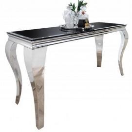 Консоль  Barock черная+серебро 180cm (Z36545) Invicta