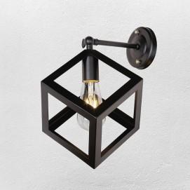 Светильник настенный 707W136-1 BK черный-09 Thexata