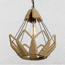 Лампа подвесная 756PR3365-1 коричневая-09 Thexata
