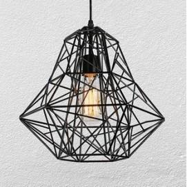 Лампа подвесная 756PR3430-1 черная- Thexata