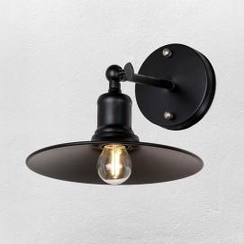 Светильник настенный 707W104-1 BK черный- Thexata