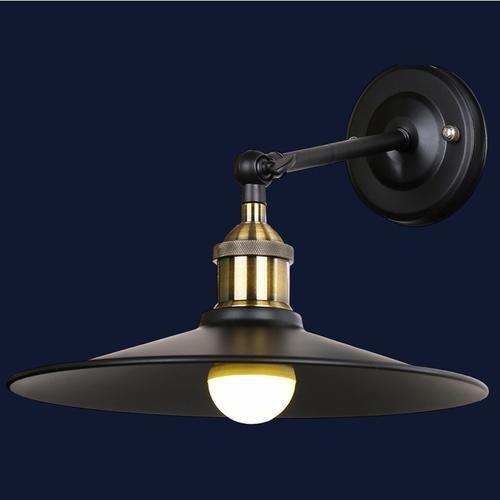 Светильник настенный 707W135-1 BK черный-09 Thexata