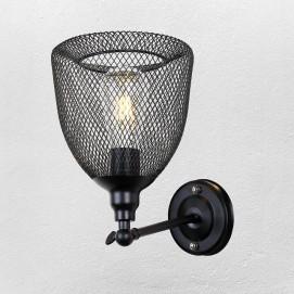 Светильник настенный 707W144-1 BK черный-09 Thexata