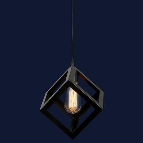 Лампа подвесная 756PR160-1 чёрная-09 Thexata