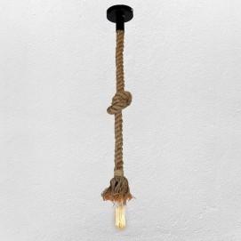 Лампа подвесная 756PR1200-1 коричневая-09 Thexata