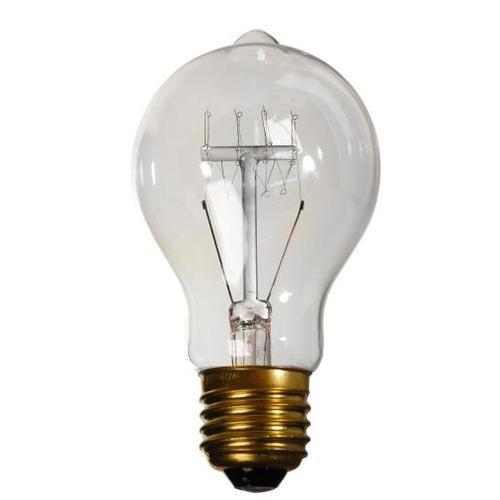 Лампочка Эдисона A19 40W 2700K Amber янтарное стекло Thexata