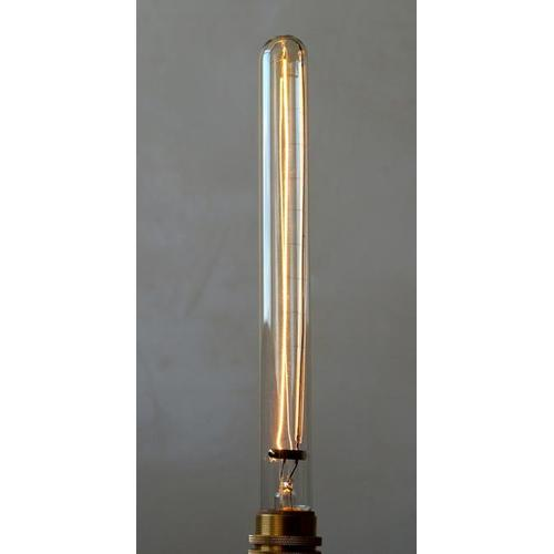 Лампочка Эдисона E27 T30 (185мм) 40W 2700K Amber 220V Thexata