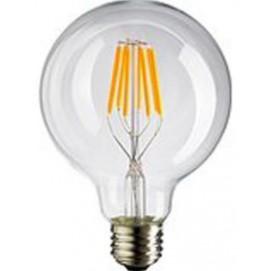 LED лампочка Эдисона G125 4W 2700K Clean прозрачное стекло Thexata