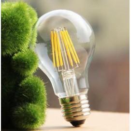 LED лампочка Эдисона A60 4W 2700K Clean прозрачное стекло Thexata
