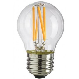 LED лампочка Эдисона G45 4W 2700K Clean прозрачное стекло Thexata