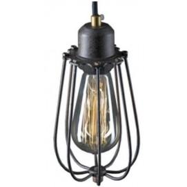 Лампа подвесная  LOFT SZARO коричневая (LA027/P) Home Design
