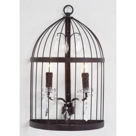 Светильник настенный Chandelier Cage (SL001) коричневый Home Design
