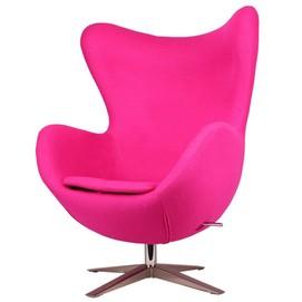 Кресло Egg ткань розовый фуксия Primel