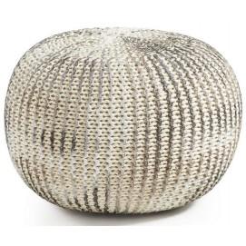 Пуф AA0491J82 - SHORE серебро Laforma