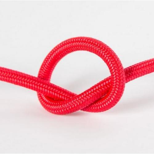 Провод в тканевой оплетке арт.307 красный Pikart