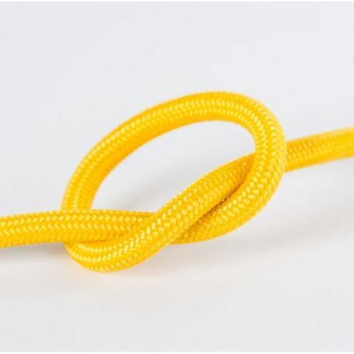 Провод в тканевой оплетке арт.301 желтый Pikart