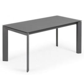 Стол обеденный раскладной CC0186C02 - ATTA антрацит 160(220)x90 см Lаforma