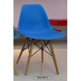 Стул Paris wood Primel голубой-11 ноги дерево Primel