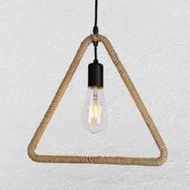 Лампа подвесная 7529363-1 коричневая-10 Thexata