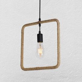 Лампа подвесная 7529364-1 коричневая-10 Thexata