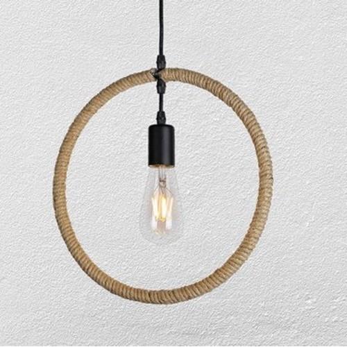 Лампа подвесная 7529362-1 коричневая-10 Thexata