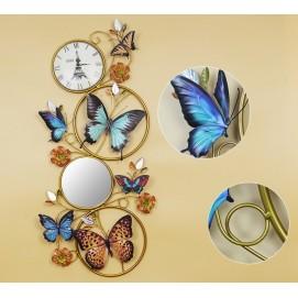 Декоративное украшение для стен, Р4-4 46х102 см Clock цветное