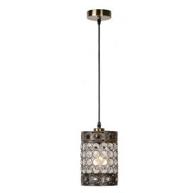 Лампа подвесная BYZANTIUM 02305/14/03 прозрачная Lucide