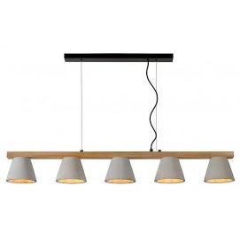 Лампа на подвесе POSSIO 03413/05/41 Lucide серая