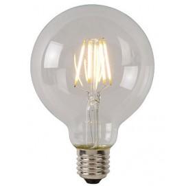 LED лампочка Эдисона G95 5W 500LM 2700K Clean прозрачное стекло