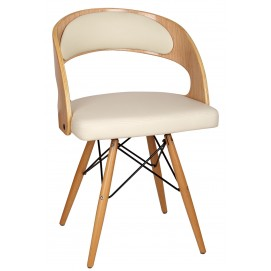 Кресло Spirngfield M белое Primel