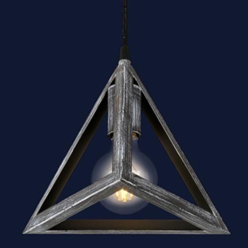 Лампа подвесная 746WXA005-1 OX серая Thexata