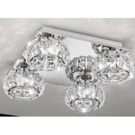 Светильник потолочный Eglo 39009 Corliano хром