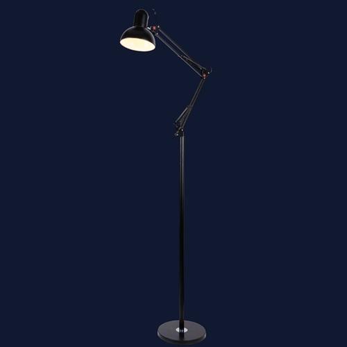 Лампа напольная 759Y6055-1 BK черная Thexata