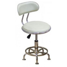Кресло Бэйсик стационарное белое MebelModern